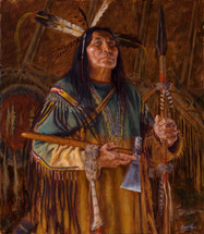 Articles-of-the-Cheyenne-Painting-by-James-Ayers
