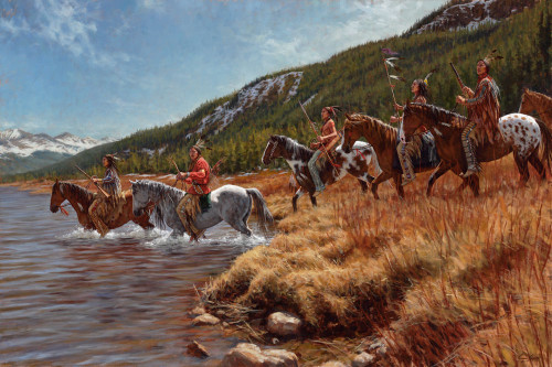 Warriors of the Shining Mountains – Ute