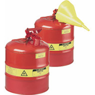 SAI516 Safety Cans (RED) 0.5 liter/1 pint