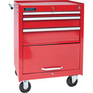 "TEP493 Tool Carts/Cabinets (3 drawers) 27""Wx18 3/4""D"