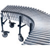 "MN870 Flexible/Expandable Roller Conveyors 24""Wx8'L"