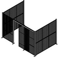 "KD083 Enclosures no roof 12'8""Wx8'4""'Dx12'3""H"