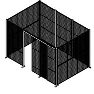 "KD101 Enclosures no roof 12'8""Wx8'4""Dx8'3""H"