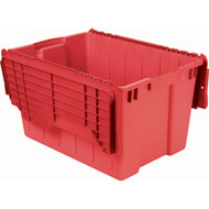 """CD510 Plastic Containers (RED flip top) 21.5""""Lx15""""Wx12.5""""H"""