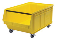"CC450 MOBILE Giant Bins (YELLOW) 18-3/8""Wx29""Dx11-7/8""H"