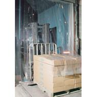 """KF007 Low Temp Doors 12"""" strips 8'Wx10'H"""