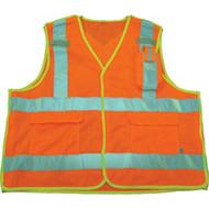 SAR619 Mesh Surveyors Safety Vests (Large)