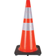 """SEF028 Traffic Cones w/Two Collars (28"""")"""
