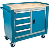 ML327 Mobile Workbenches1 door/4 drawers