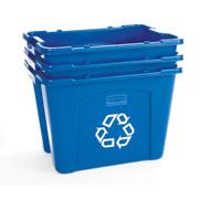 """JC060 Recycling Bins 14-3/4"""" High"""