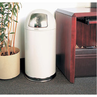 NA889 Garbage Containers Stainless steel lid