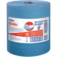 JA181 HD Shop WipersBlue475 sheets/roll