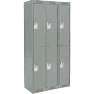 FJ157 Steel Lockers 2 tiers3 banks