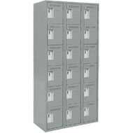 FJ173 Steel Lockerettes  6 tiers/3 banks