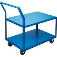 Utility Shelf Carts Low Profile HD (Rubber Casters)