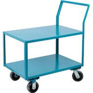 Utility Shelf Carts Low Profile HD (Polyurethane Casters)