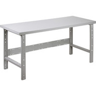 "FF667 Workbenches (w/steel/wood-fill tops) 24""Wx60""Lx34""L"