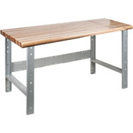 """FF653 Workbenches (w/laminated wood tops) 24""""Wx60""""Lx34""""H"""