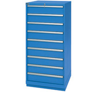 """FI141 124 compartments28.25""""Wx28.5""""Dx59.5""""H"""