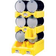 """SB772 Upper Stackers2-drum 41""""Wx49""""Lx13""""H"""
