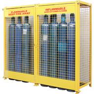 "SAF848 Comp/Gas 20-cyl Cages 88""Wx30""Dx74""H"
