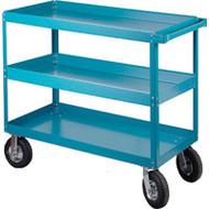 """MB491 Shelf Carts (3 shelves) 24""""Wx48""""Dx40""""H"""