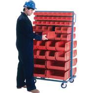 "CB090 Racks RED Bins 36""Wx24""Dx63""H"