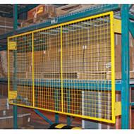 "RL932 Back Guards for Pallet Racking (6"" brackets) 4'H x 9'W"