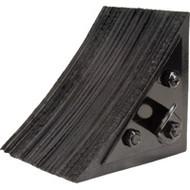 "KH603 Wheel CHOCKS (extra HD laminated rubber) 8""Wx8""Lx8""H"