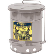 SAR304 Oily Waste Cans (SILVER) 22 liters/6 US GAL
