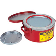 WN979 Bench Cans (w/basket) 1 US gal/4 liters