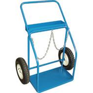 "ML413 Gas Cylinder Carts 16"" pneu 25""Wx13""D"