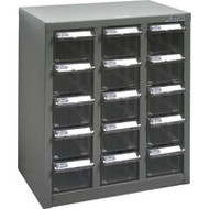 """CF304 15 clear drawers13.9""""Wx8.7""""Dx16.3""""H"""