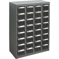 "CC453 32 clear drawers18.1""Wx8.7""Dx25.6""H"