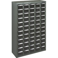 """CC454 60 clear drawers22.6""""Wx8.7""""Dx36.9""""H"""