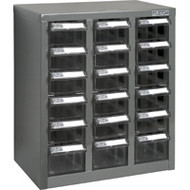 """CF311 18 clear drawers13.9""""Wx8.7""""Dx16.3""""H"""