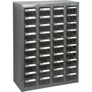 """CF314 40 clear drawers18.3""""Wx8.7""""Dx25.3""""H"""