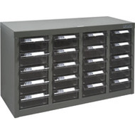 """CF318 20 clear drawers23.1""""Wx8.7""""Dx13.6""""H"""
