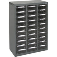 """CF319 30 clear drawers17.5""""Wx8.7""""Dx25.3""""H"""