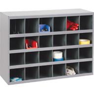 "CA136 24-bin Cabinets 33-3/4""Wx12""Dx23-7/8""H"