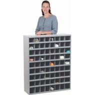 "CA154 72-bin Cabinets 33-3/4""Wx12""Dx42""H"