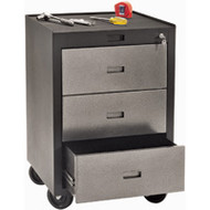 "FH733 Mobile Cabinets(black)23""Wx22""Dx30""H"