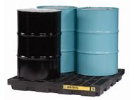 SBA863 Drum Spill Workstations 4-drum