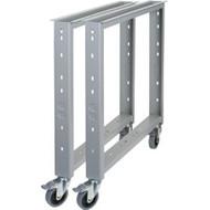 """ML269 KIT: Mobile Legs/Stringer (for 30""""D/36""""D workbench tops)"""