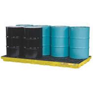 SBA870 Drum Spill Workstations 8-drum