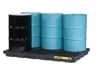 SBA864 Drum Spill Workstations 6-drum