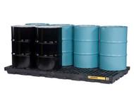 SBA865 Drum Spill Workstations 8-drum