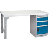 """FG099 Workbenches (laminated plastic tops) 30""""Wx60""""Lx34""""H"""