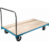 "MB324 Wood Platform Corner casters 48""Wx96""L"