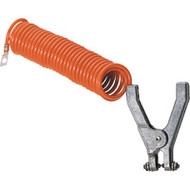 DA777 Coiled Grounding Clamps 15' coil
